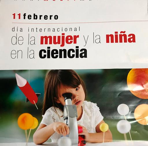 Postdata el día Internacional de la mujer y la niña en la ciencia
