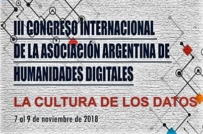 III Congreso de Humanidades Digitales de la AAHD