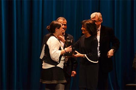 Elena Álvarez Mellado, ganadora del XXII Premio Nacional Miguel Delibes