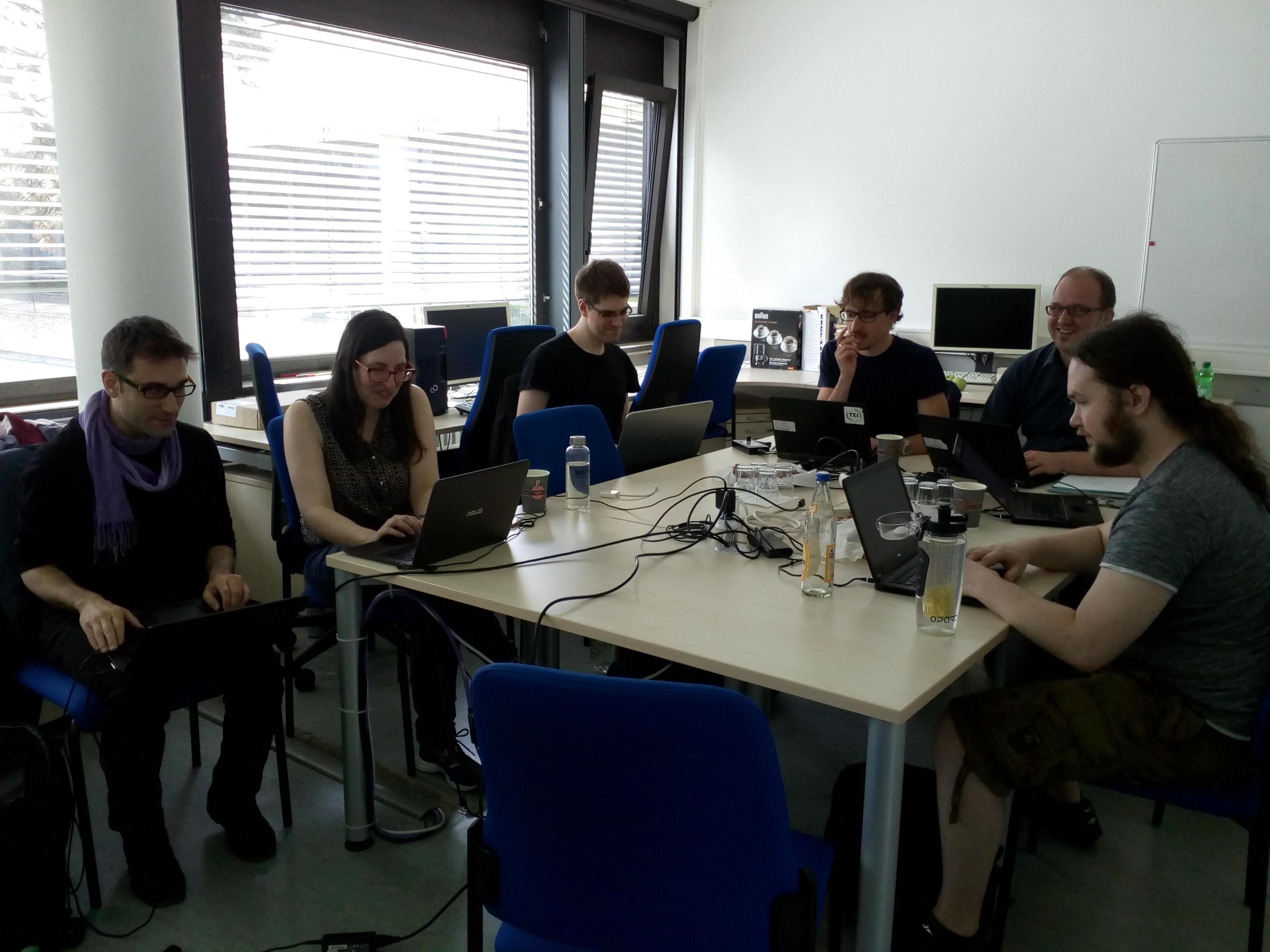 POSTDATA imparte taller sobre datos abiertos enlazados en Würzburg