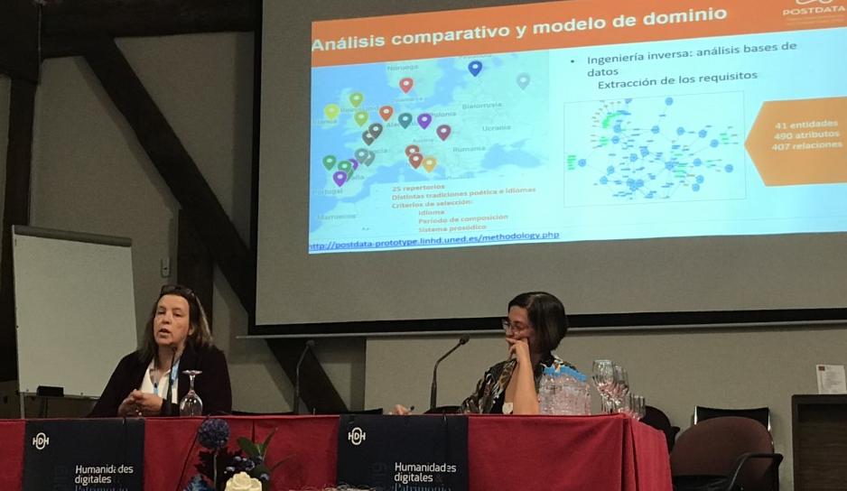 Presentación de POSTDATA: «Una red de ontologías para la poesía europea»