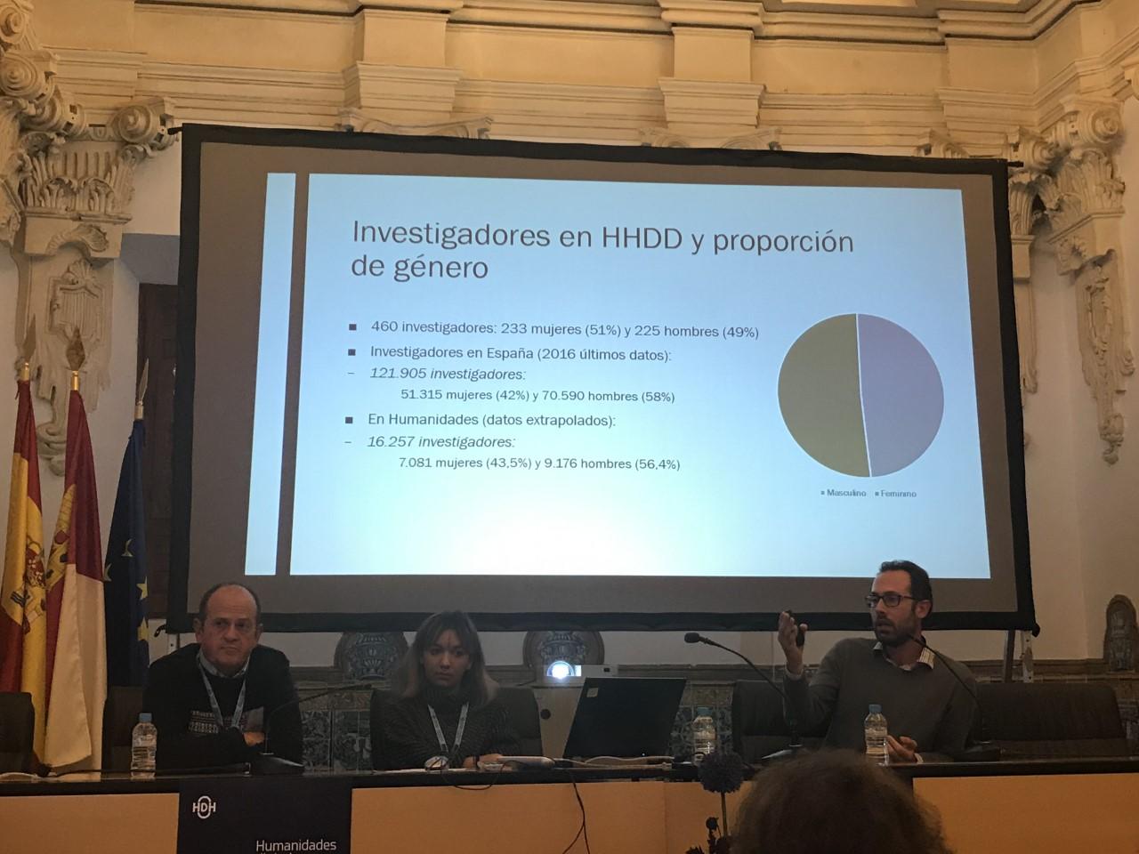 """Presentación de la investigación """"Impacto de las Humanidades Digitales en España"""" de H2020 DESIR-DARIAH"""