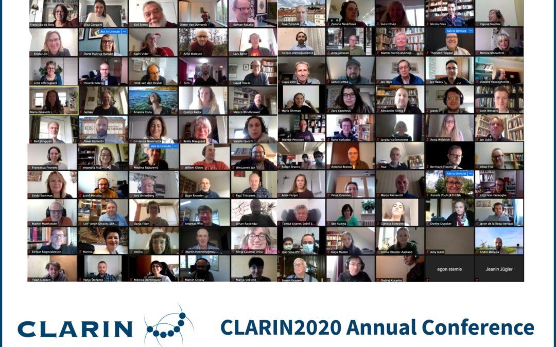 Participación del proyecto POSTDATA en la Conferencia Anual de CLARIN