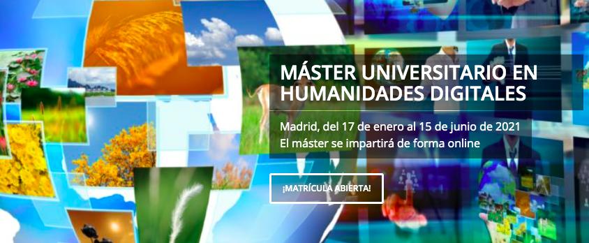 Master en Humanidades Digitales de LINHD