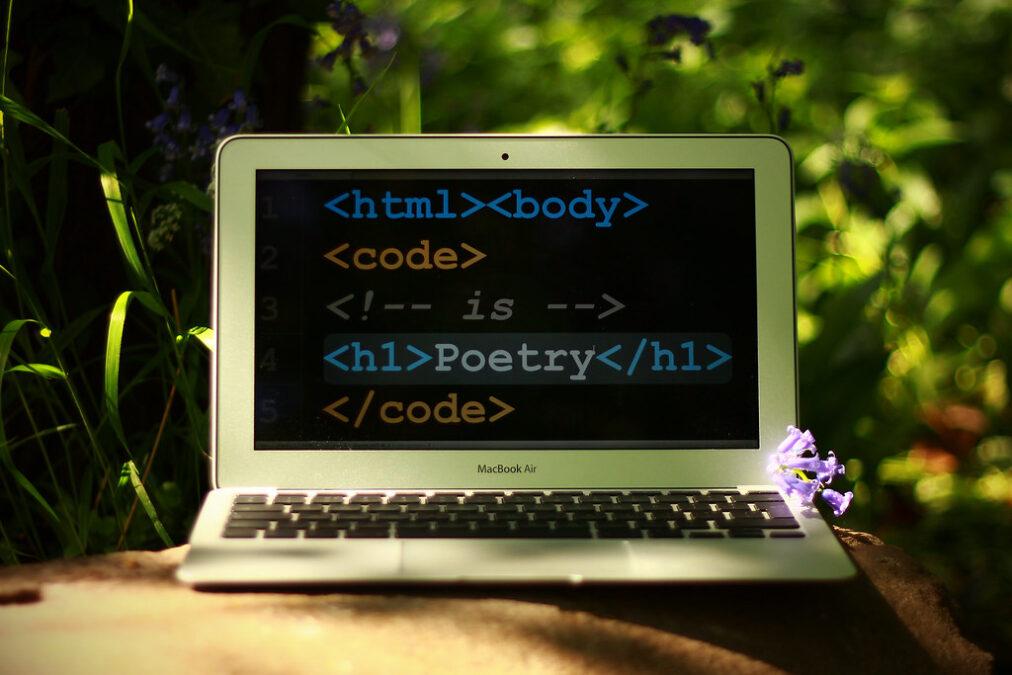 Cerrar la brecha digital entre la poesía y la tecnología